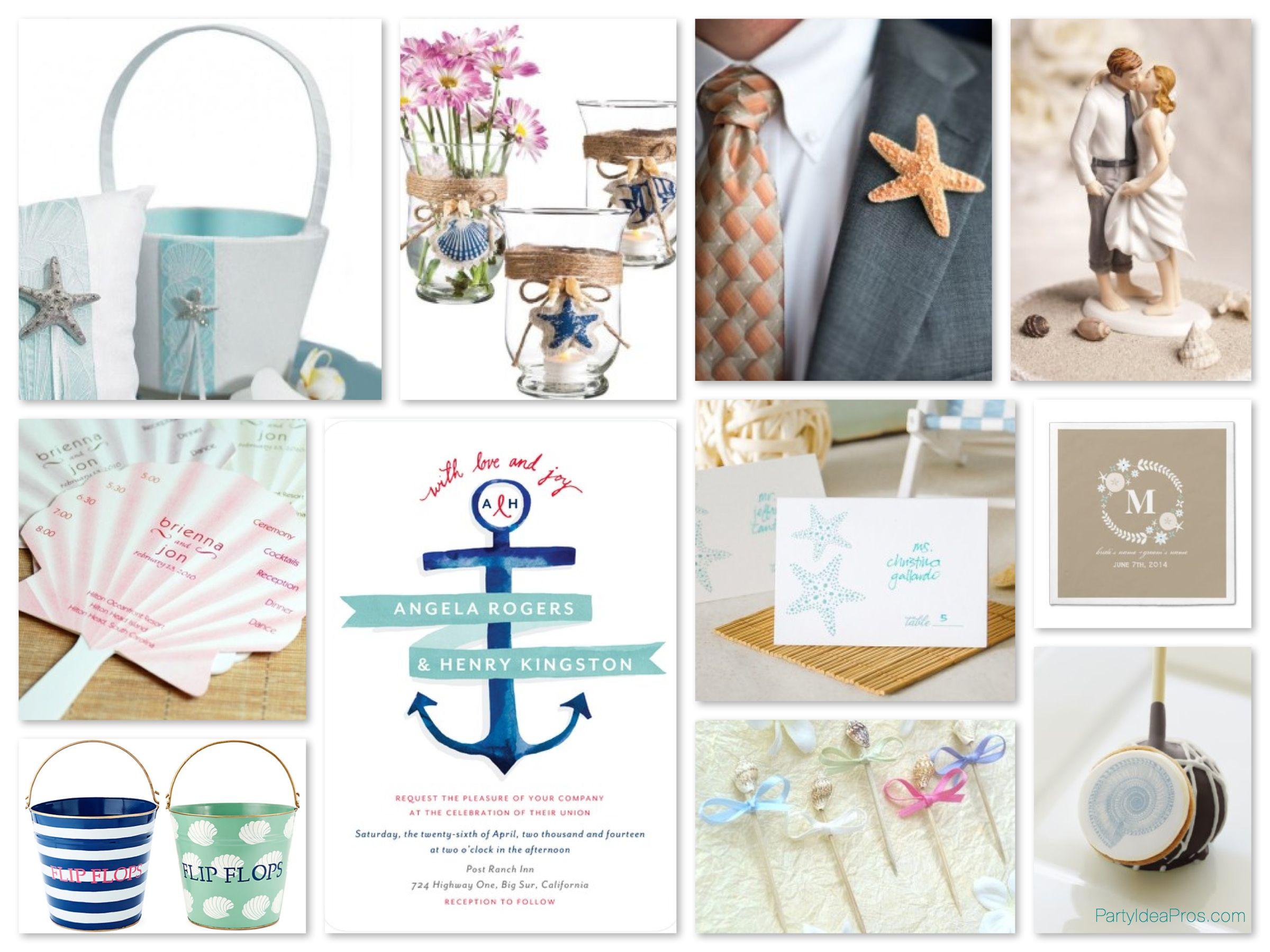 Nautical & Beach Wedding Planning, Theme Ideas, Decor & Supplies ...