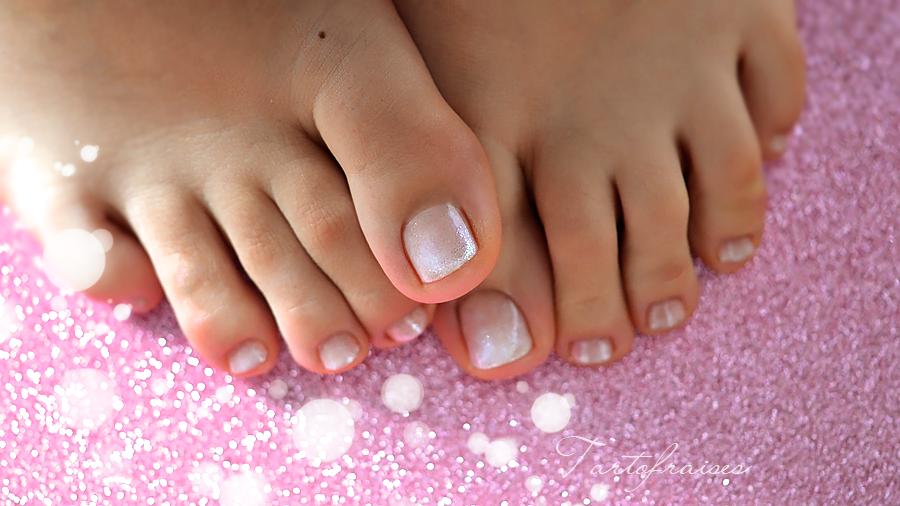 babyboomer vernis pied