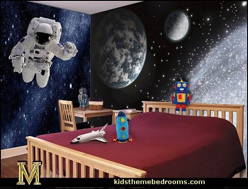 Decorating Theme Bedrooms Maries Manor Outer Space Theme Bedrooms Planets Decor Solar System Decor Space Themed Room Space Themed Bedroom Bedroom Themes