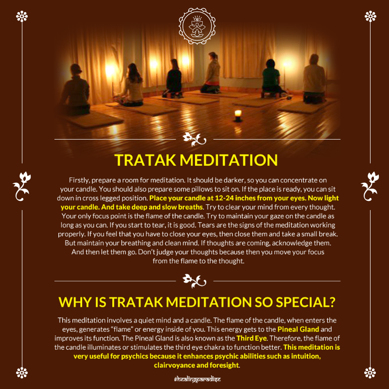 Tratak Meditation. Mastering the art of Concentration ...