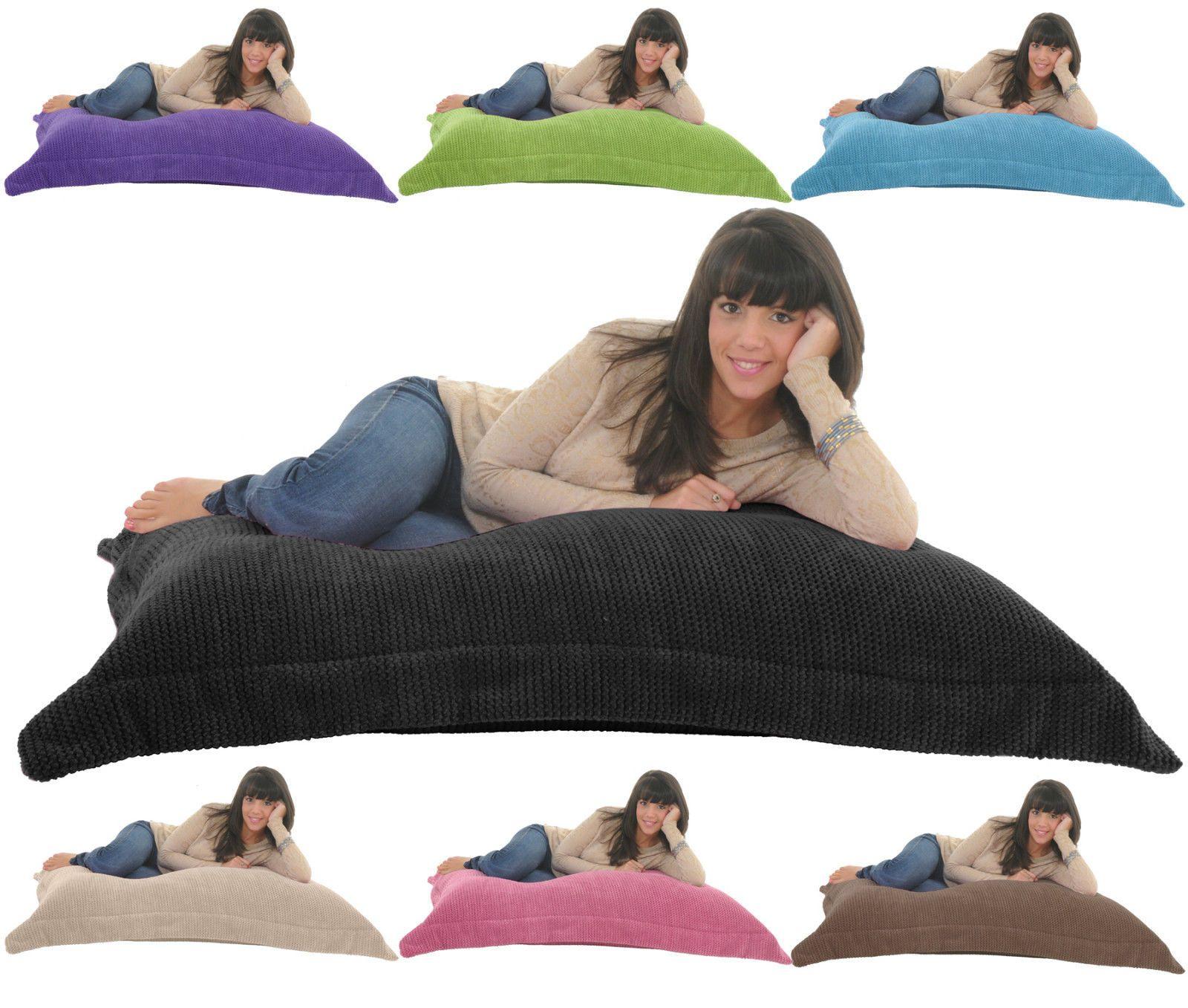 SOFT & SNUGLY CORD Giant Beanbag Floor Cushion Chair Bed Lounger ...