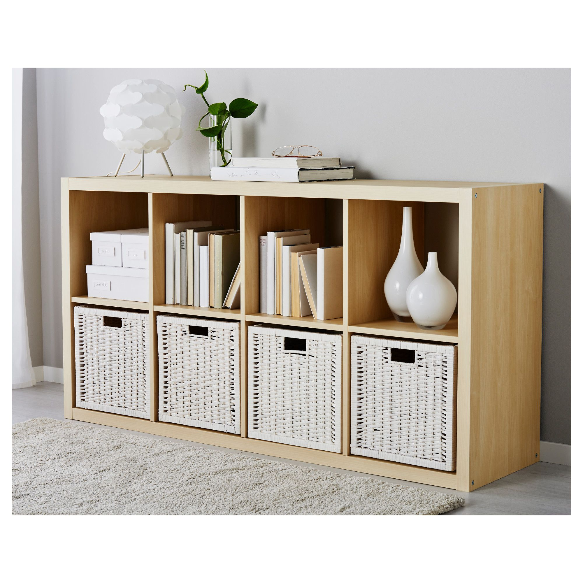 ikea bran s basket white products in 2019 kallax. Black Bedroom Furniture Sets. Home Design Ideas
