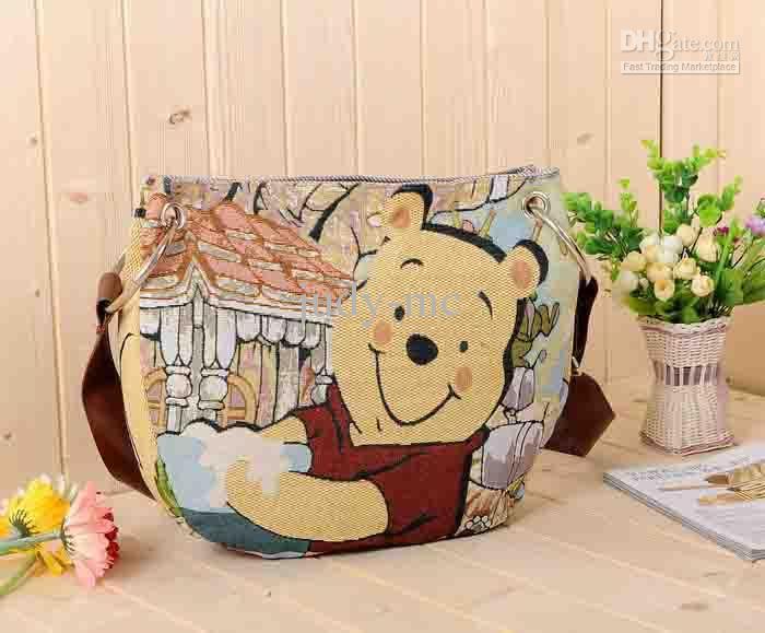 High Quality Bag Winnie The Pooh Series Shoulder Bags Messenger School Style Cu Luxury Handbags Brands From Judy Mc 9 85 Dhgate Com