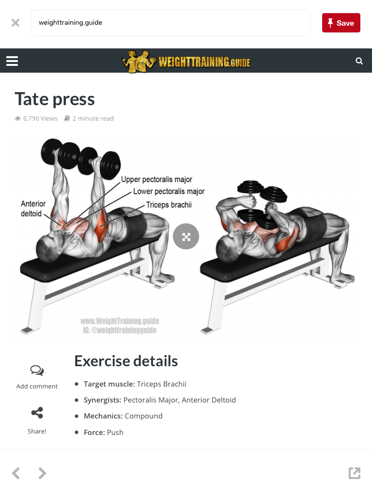 Pin by Brian on Fitness | Chest workouts, Dumbbell workout