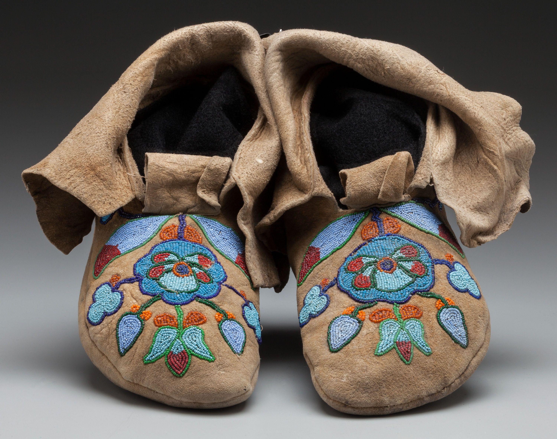 Nez Perce Moccasins