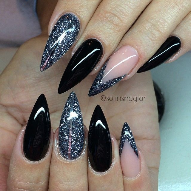 Stiletto nails @KortenStEiN - Stiletto Nails @KortenStEiN Nail Art Pinterest Stilettos