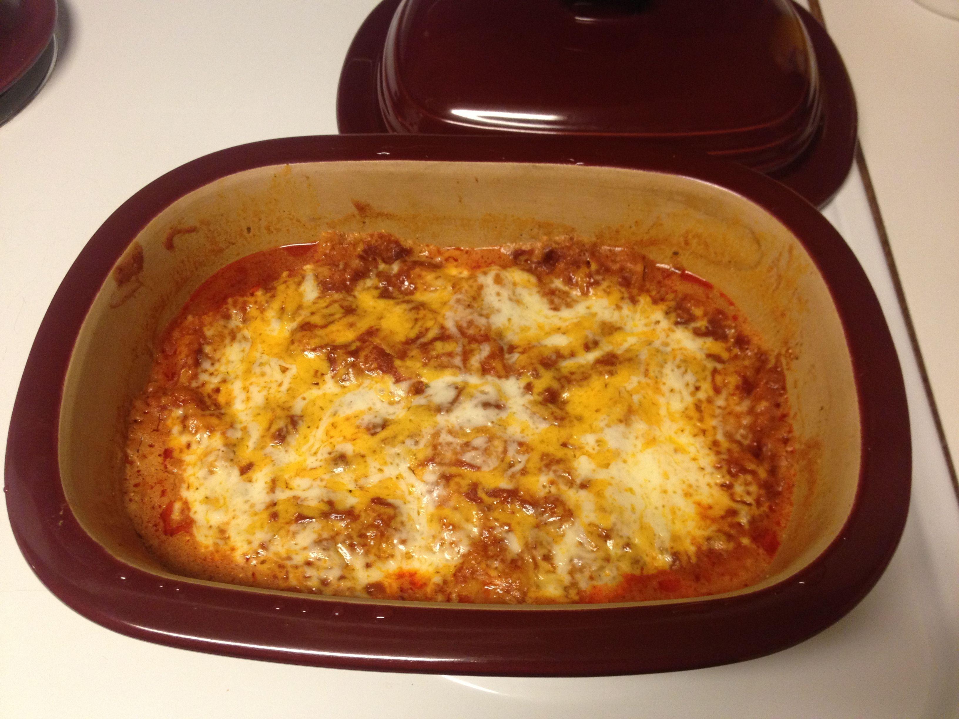 Mexican Chicken Lasagna www.pamperedchef.biz/crystallong