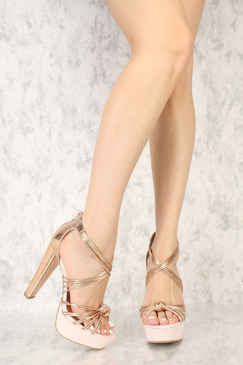 1d10fbcc811 All outfits need to be styled by a pair of chunky high heels like these!