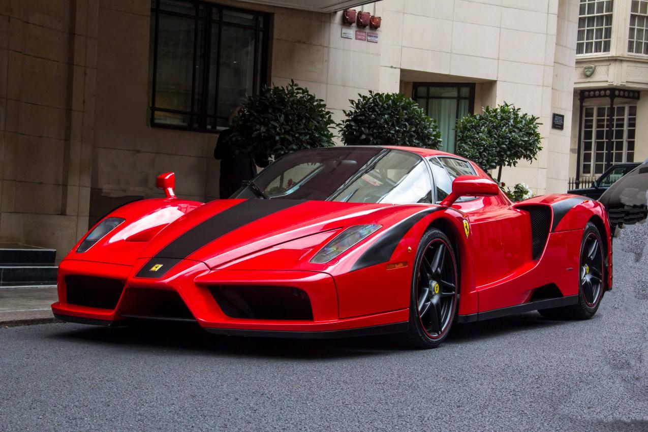 Ferrari Enzo Red Black
