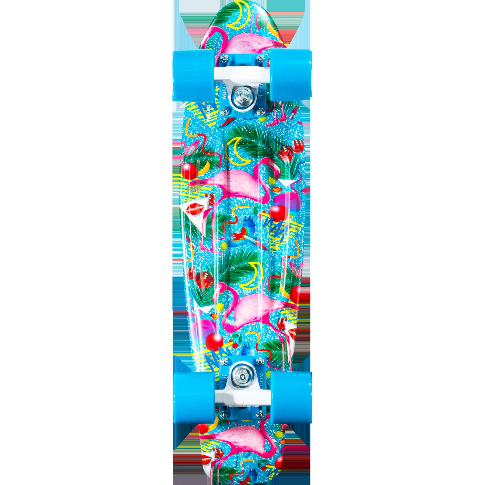 """Penny 22"""" Miami Graphic Cruiser Complete Skateboard"""