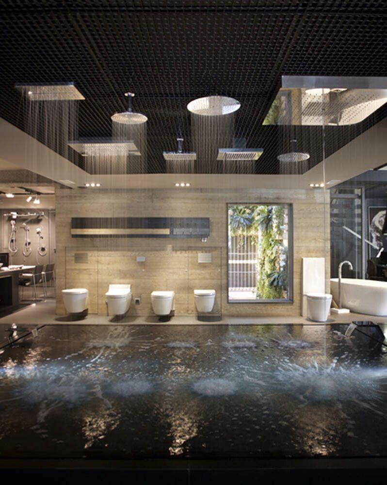 Dornbracht show pinterest showroom display and bathroom showrooms