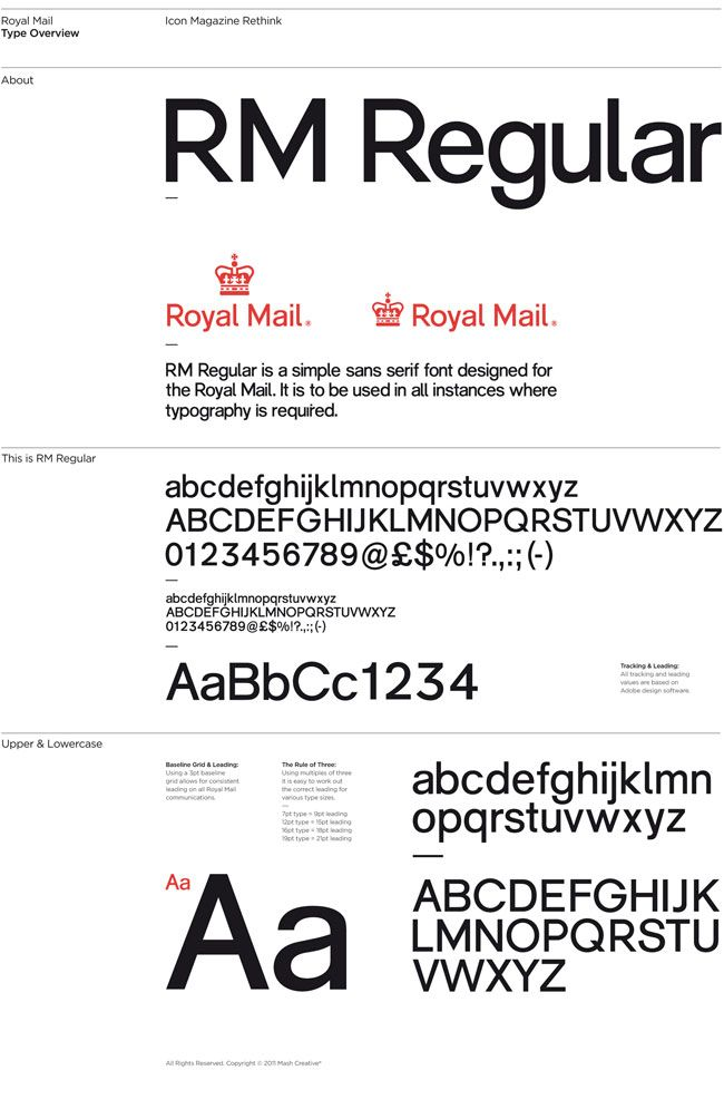 Royal Mail Logo And Brand Identity