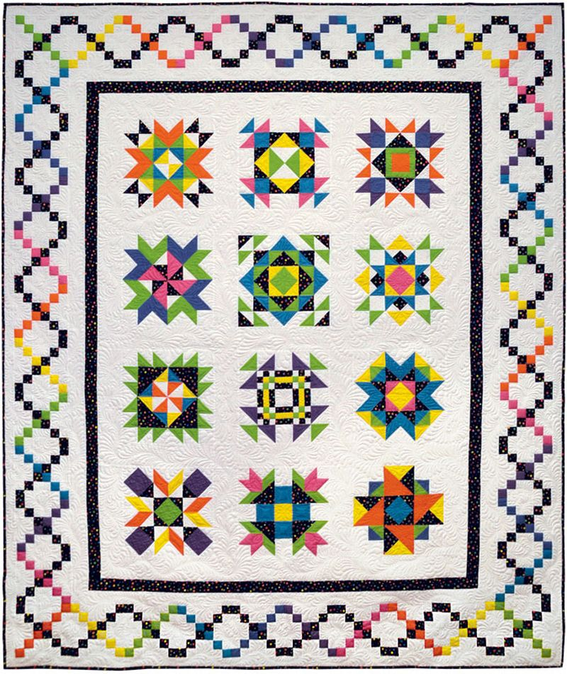 Sparkling Gems : 2014 Block of the Month at Stitchin' Heaven ... : quilt shop panama city fl - Adamdwight.com