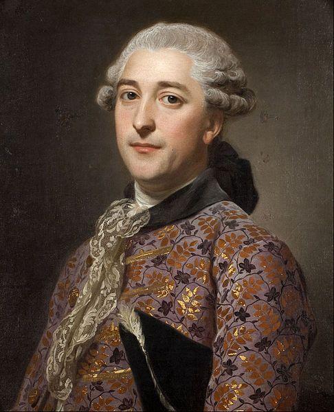 1762 Portrait of Prince Vladimir Golitsyn Borisovtj by Alexander Roslin