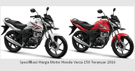 Spesifikasi Harga Motor Honda Verza 150 Teranyar 2016 - Motor Ganteng