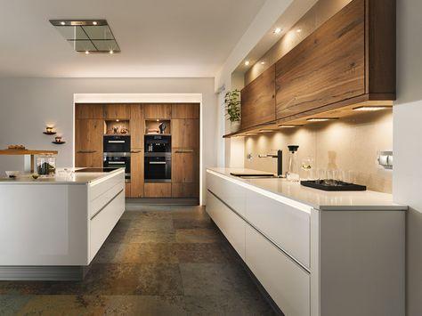 Breitschopf macht ihre Küche → Barrique Alteiche - küche landhaus weiß