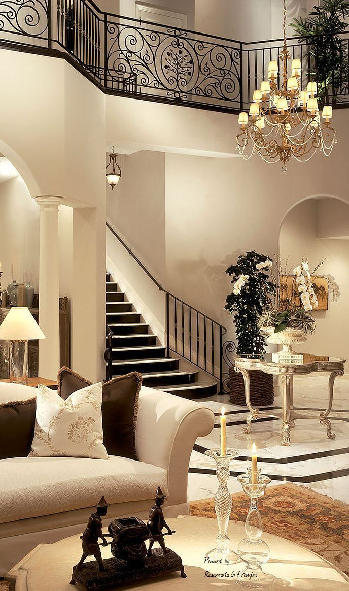 Architecture Luxury Interiors Stairs In Living Room