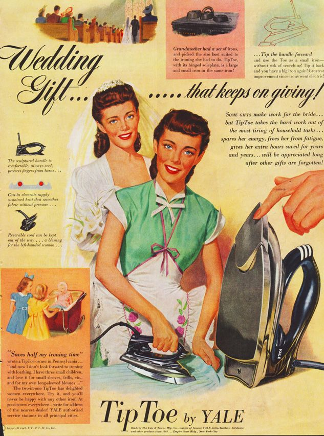 perfect present for vintage housewife