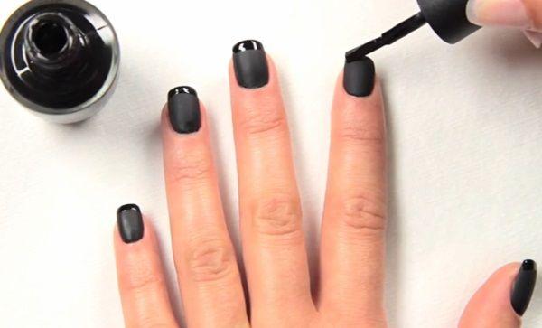 Nail art 2014, l'inverno e l'effetto mat