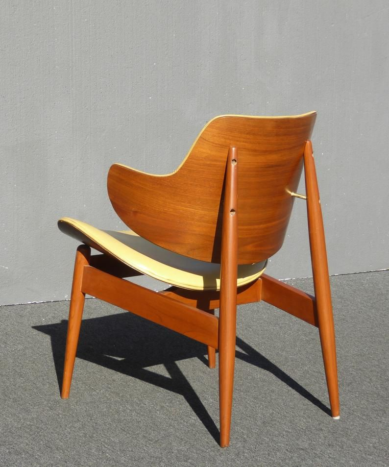 Vintage Mid Century Kodawood Gold Chair By Seymour James