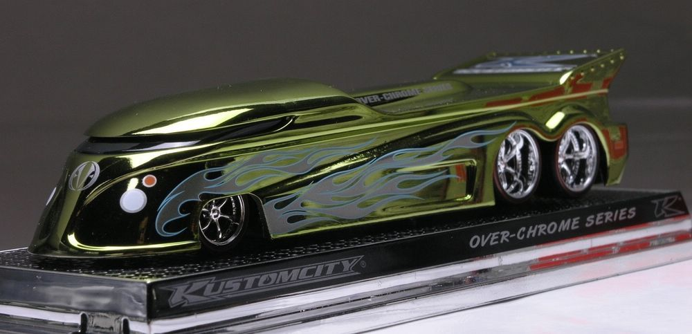 "KUSTOMCITY Over Chrome Series EVO GT DRAG BUS in ""OVER"