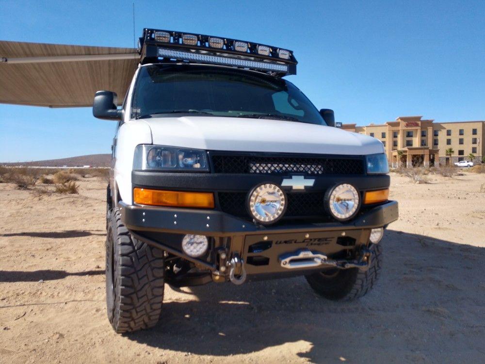 chevy van 4x4 build