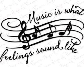 Music svg files   Etsy