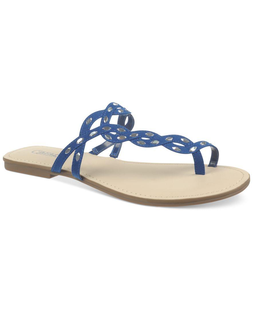 Carlos by Carlos Santana Selena Flat Toe Ring Sandals