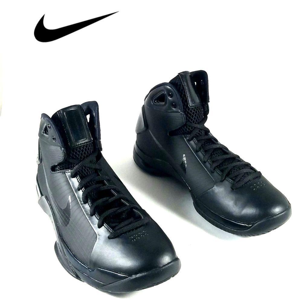 sale beauty on feet shots of Nike Hyperdunk Sz 10 Black Mens Basketball Retro Kobe (820321-002 ...