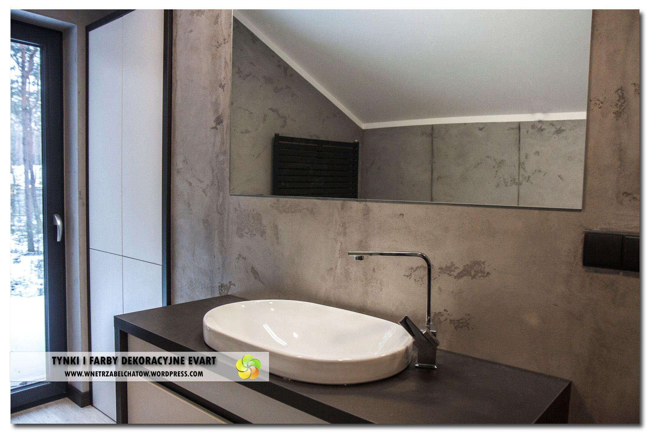 Beton Architektoniczny Na ścianie W łazienceconcretepiekna