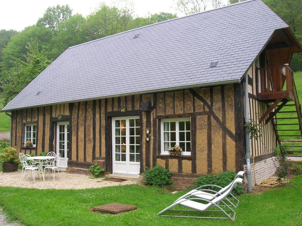 Normandie Le Charme Des Maisons Du Pays D Auge Maison Normande Pays D Auge Maison