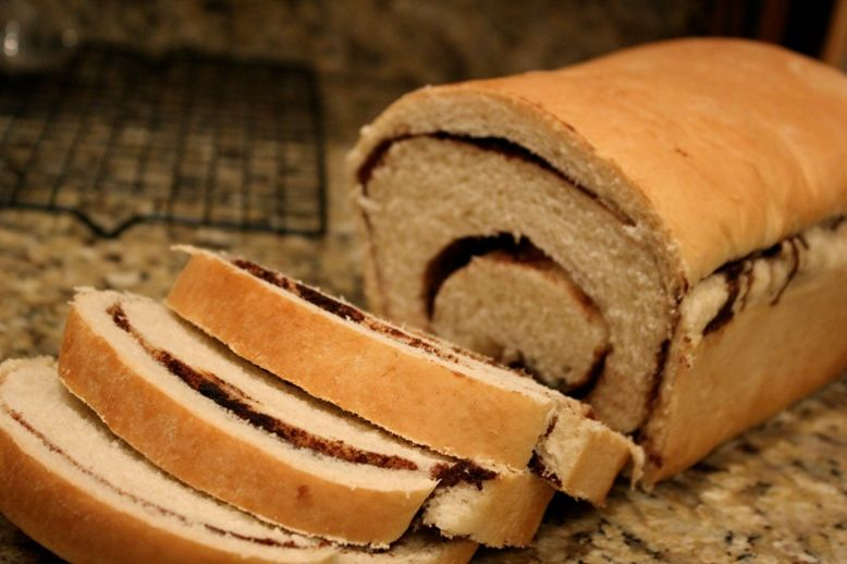 Why We Cook: Grandma's White Bread with Cinnamon Swirl variation