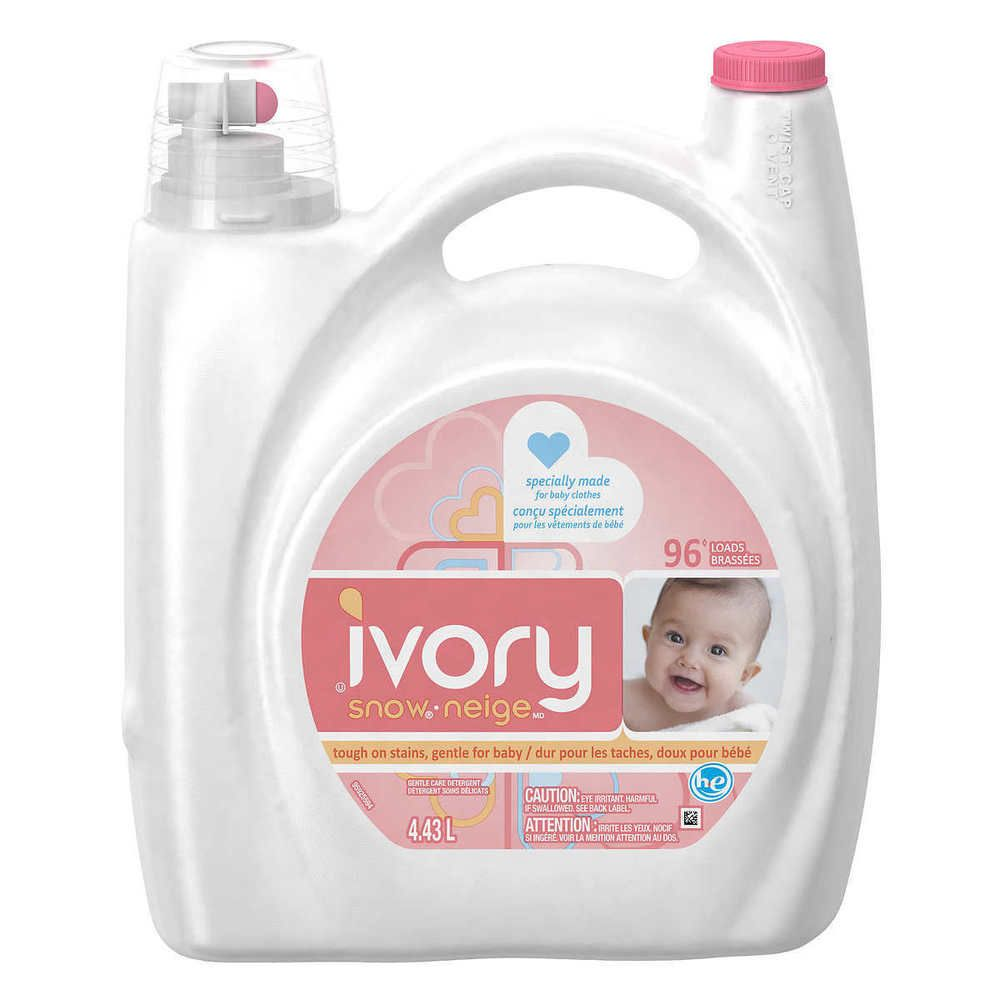 Ivory Snow Made For Baby Clothes Liquid Laundry Detergent 4 43 L