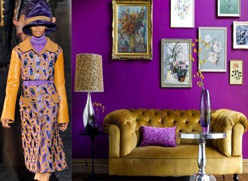 jewel tone home decor | Found on styleblazer.com