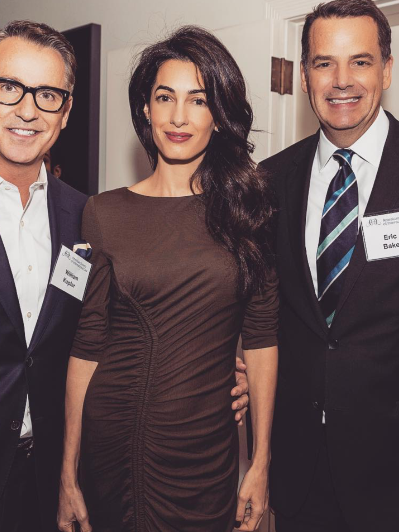 Amal Clooney at the American Society of International Law in