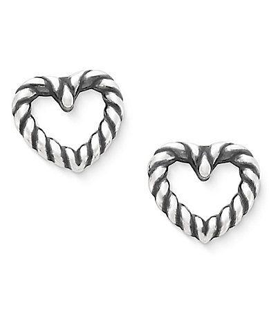 James Avery Twisted Wire Heart Earrings Dillards Heart Earrings James Avery Earrings Fashion Rings