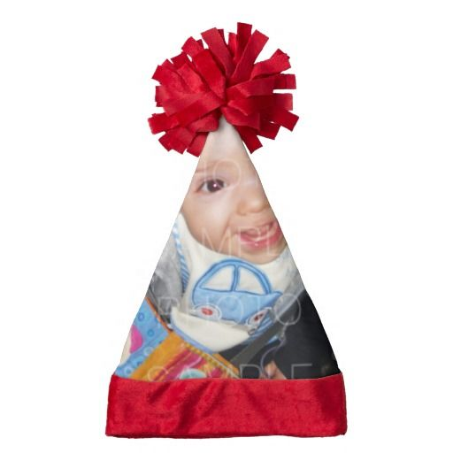Customize it with Your photos Santa Hat