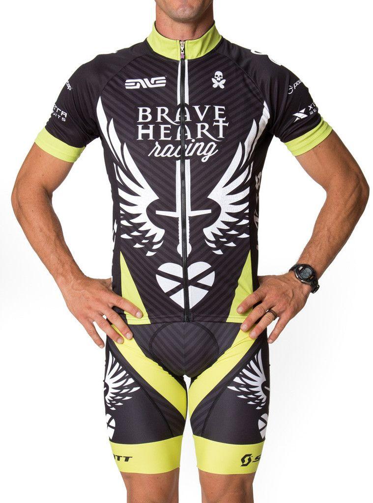 XSU224 Road Mens Racing MTB Cycling Short Sleeve Jersey and bib Shorts