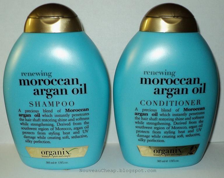 Review Organix Moroccan Argan Oil Shampoo Conditioner With