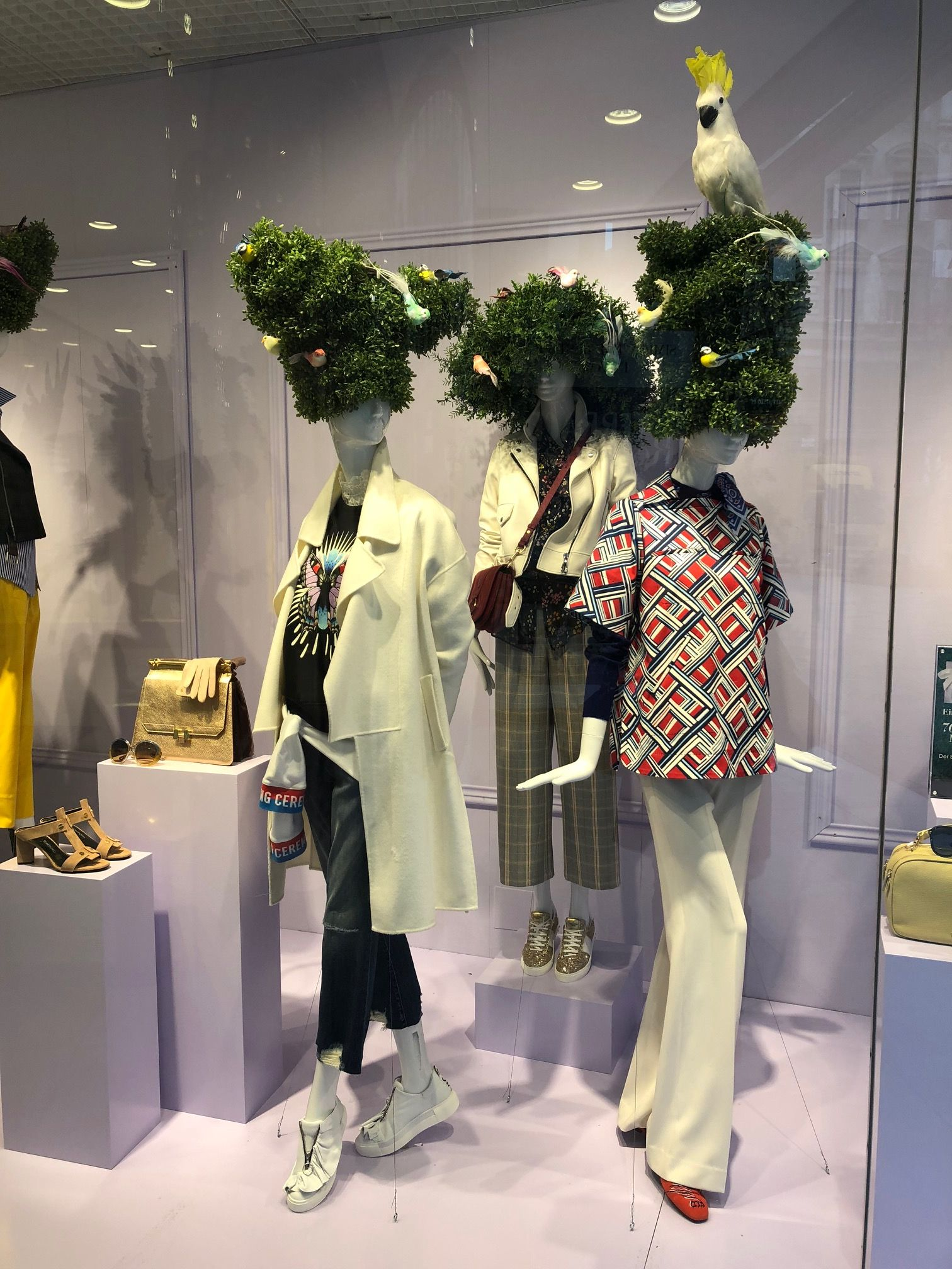 Fenster Stores Spring Preview 2018 Window Display Steffl The Department Store