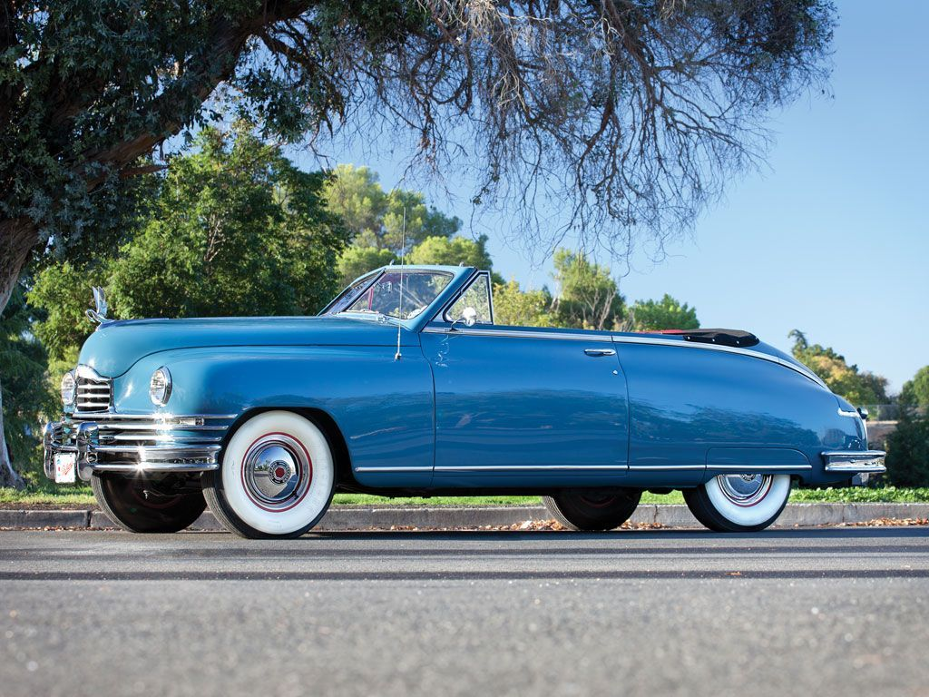 1948 Packard Super Eight Convertible Victoria Arizona
