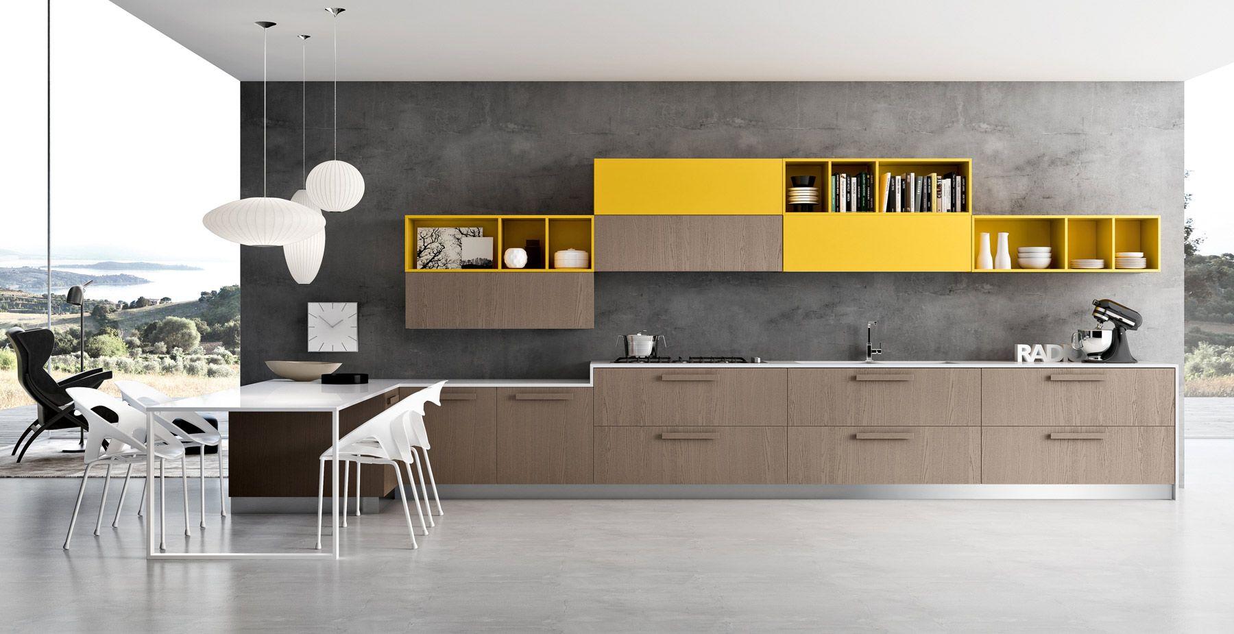 Cucine Cesar Modello Luce : Cucine a vista. Cucine ad angolo con ...