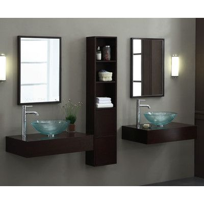 Xylem Blox 30 Wall Console With Solid Top Set Bathroom Furniture Vanity Double Vanity Bathroom Small Bathroom Solutions