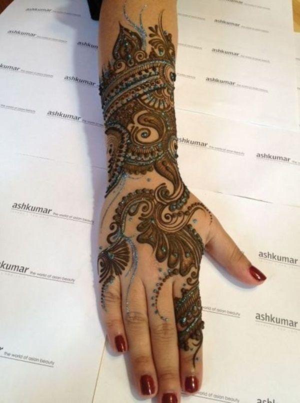 henna tattoo selber machen 40 designs mehndi henna pinterest. Black Bedroom Furniture Sets. Home Design Ideas