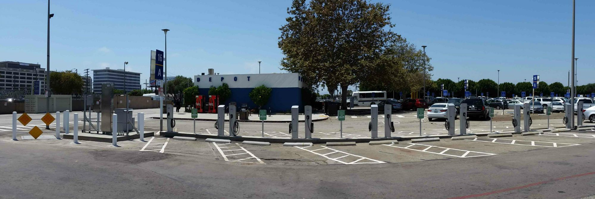 Replenish You Electric Vehicle With These 14 Charging Stations At Lax Parking Lot C