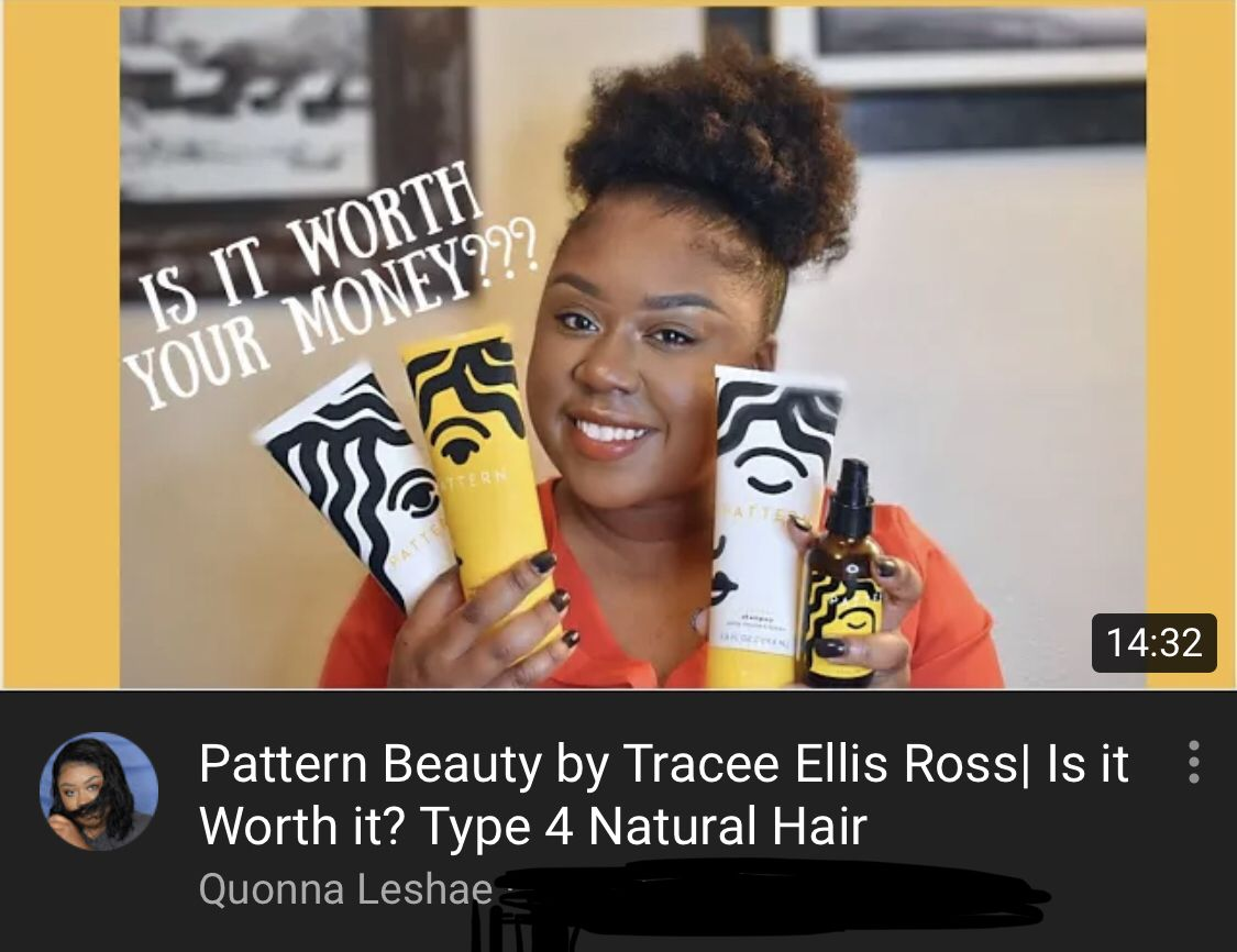 First Impressions Of Pattern Beauty By Tracee Ellis Ross Natural