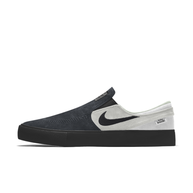 Nike Sb Zoom Stefan Janoski Slip Rm By You Custom Skate Shoe Mens Vans Shoes Nike Nike Zoom Stefan Janoski