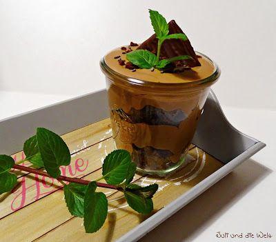 Choco - Mint - Layer - Dessert / http://juli-und-die-welt.blogspot.de/