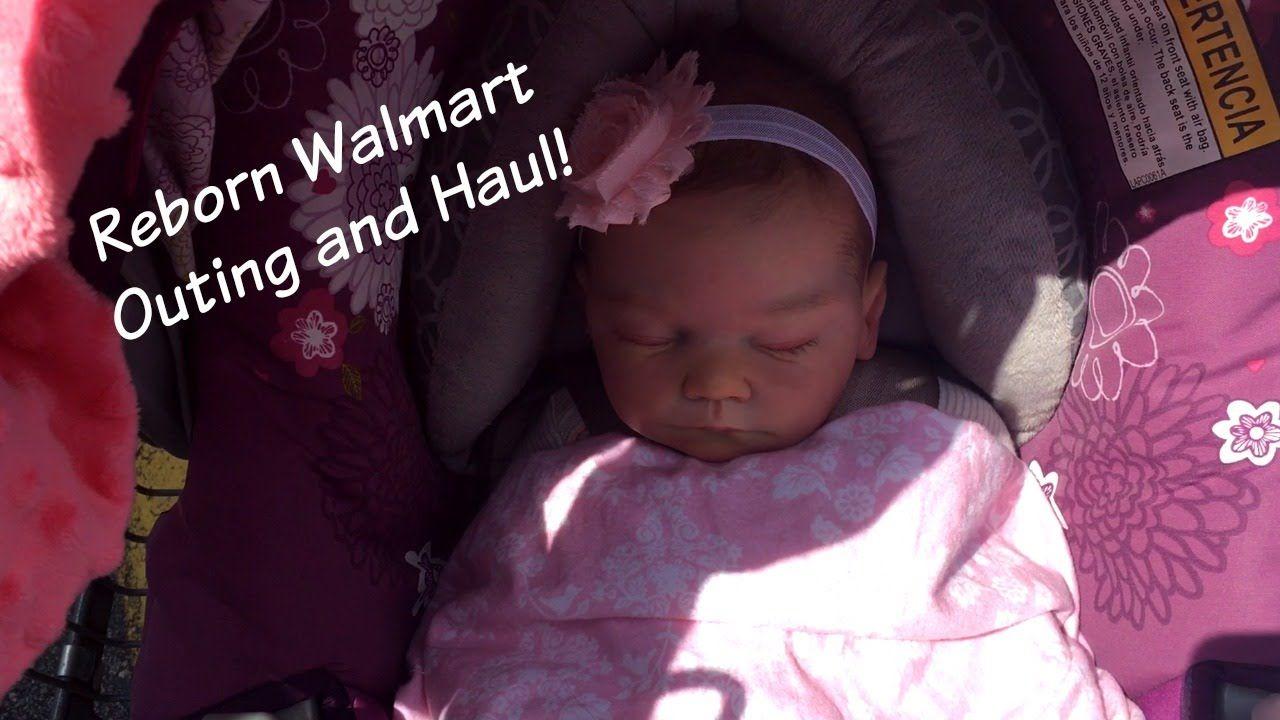 Reborn Walmart Outing and Haul Life like babies, Life
