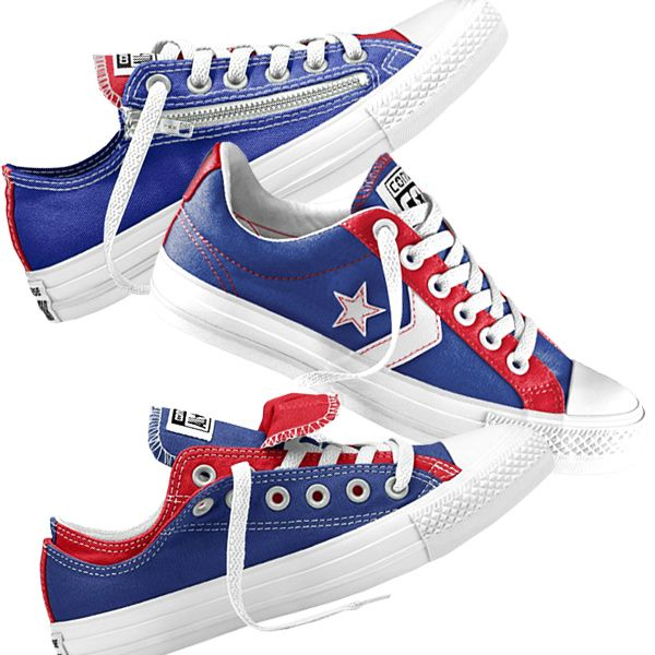 Chicago Cubs Converse Shoes | Chicago Cubs Fashion, Style